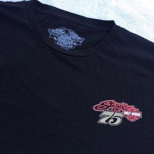 Harley Davidson Sturgis 75 Years T shirt